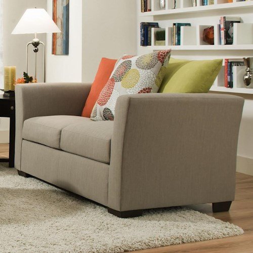 United Furniture Industries 4201 Transitional Loveseat