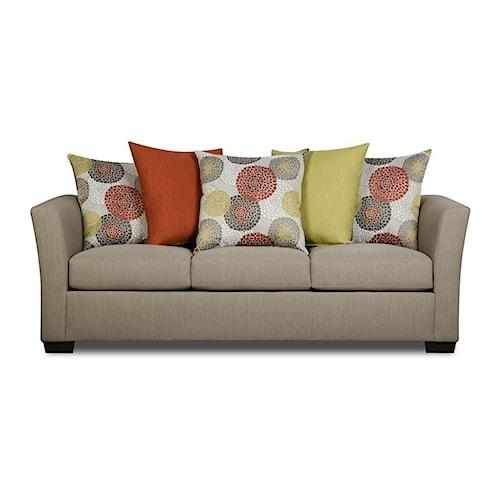 United Furniture Industries 4201 Transitional Sofa