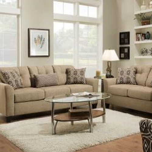 United Furniture Industries 4315 Transitional Sofa with Wood Legs