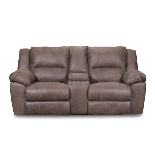 United Furniture Industries 50111 Casual Double Motion Loveseat