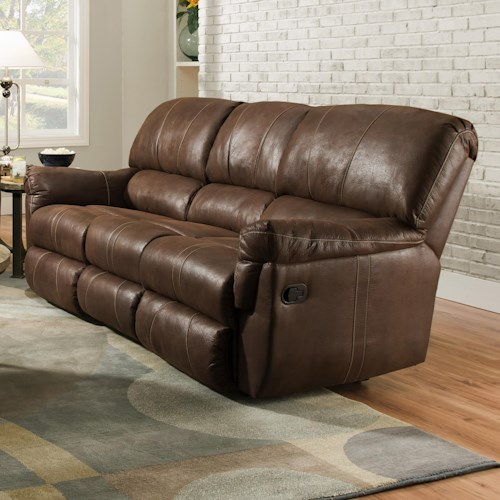 United Furniture Industries 50364 Casual Power Reclining Sofa