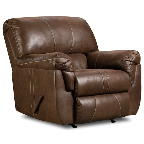 United Furniture Industries 50364 Casual Rocker Recliner