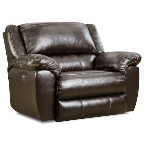United Furniture Industries 50433BR Power Cuddler Recliner