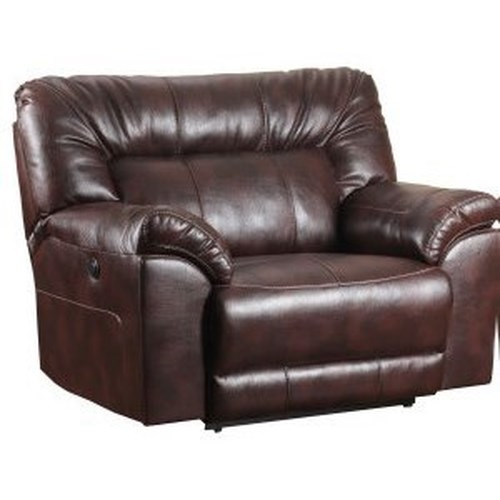United Furniture Industries 50571BR Cuddler Recliner with Pillow Arms