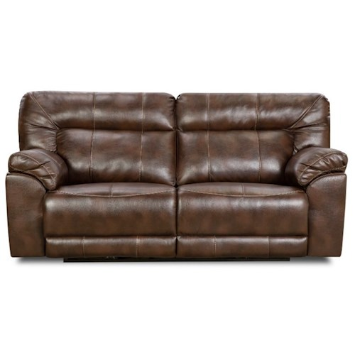 United Furniture Industries 50571BR Casual Double Motion Sofa