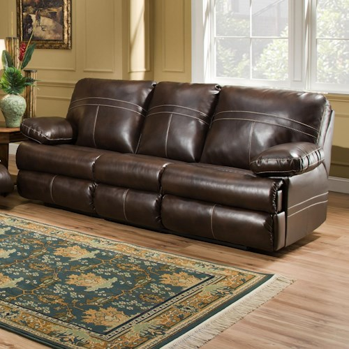 Simmons Upholstery 50981 Double Motion Sofa