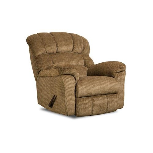 Simmons Upholstery 558 Victor Amber Recliner