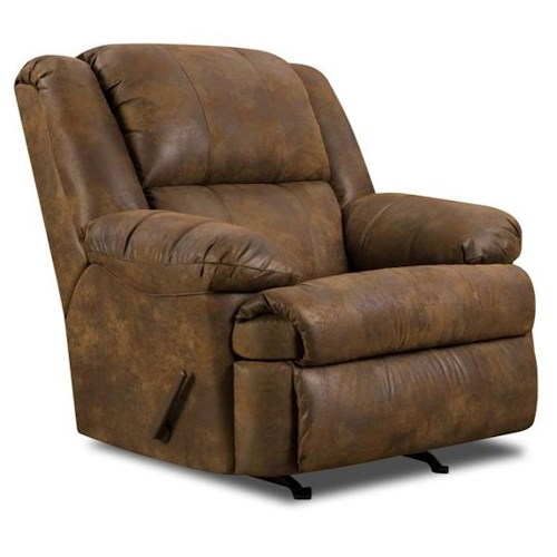 United Furniture Industries 604 Casual Rocker Recliner