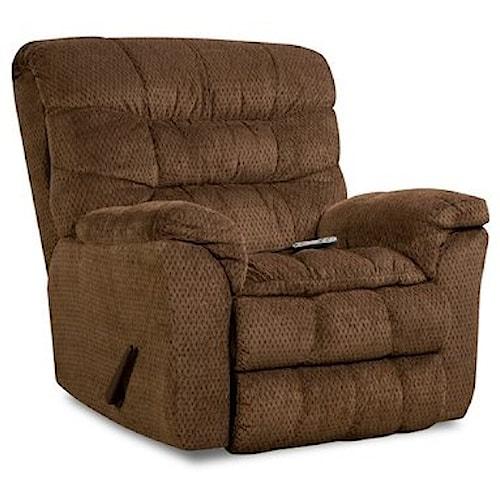 United Furniture Industries 678 Heat and Massage Rocker Recliner