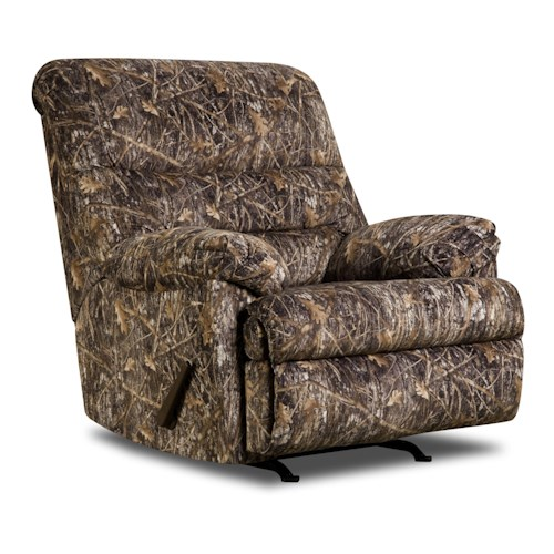 United Furniture Industries 683 United Casual Rocker Recliner