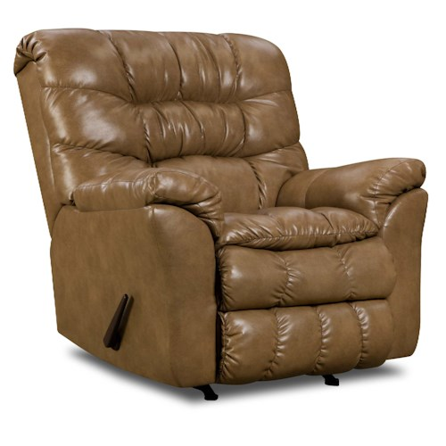 United Furniture Industries 689 Casual Power Rocker Recliner