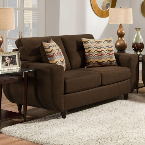 United Furniture Industries 6950 Contemporary Loveseat