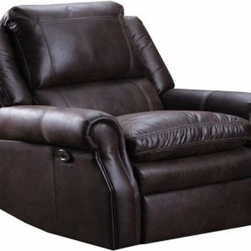 United Furniture Industries 8069 Transitional Power Rocker Recliner with Rolled Arms