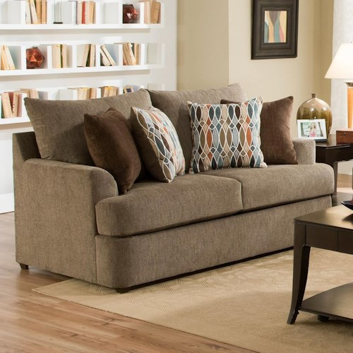 United Furniture Industries 8540BR Casual Loveseat