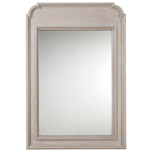Morris Home Furnishings Élan Traditional Mirror with Elegant Wood Moulding