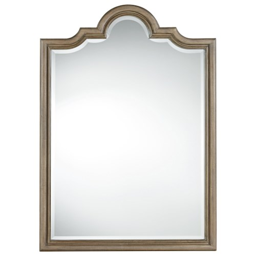 Universal Authenticity Francesco Mirror with Khaki Finished Frame