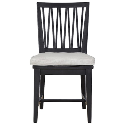 Universal Authenticity Side Chair with Removable Cushion