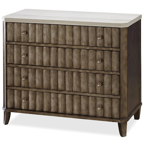 Morris Home Furnishings California - Hollywood Hills Accent Chest with Stone Top