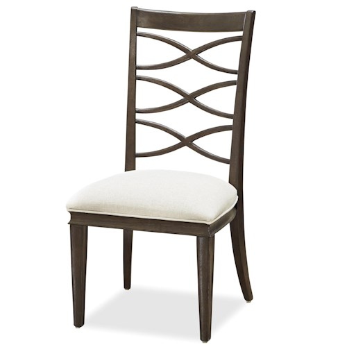 Morris Home Furnishings California - Hollywood Hills X-Back Side Chair
