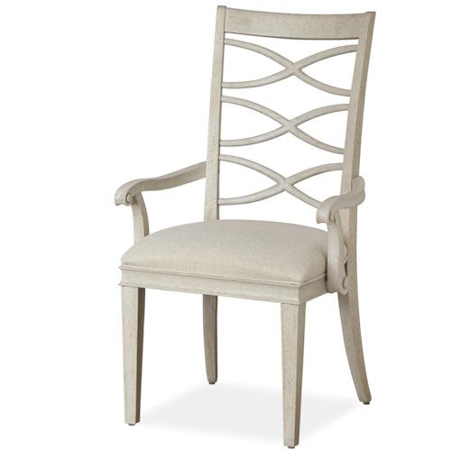 Universal California - Malibu X-Back Arm Chair