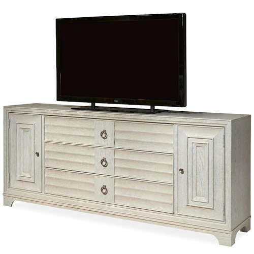 Morris Home Furnishings California - Malibu Entertainment Console with 3 Drawers