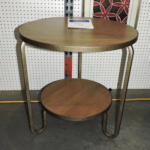 Universal     Round End Table
