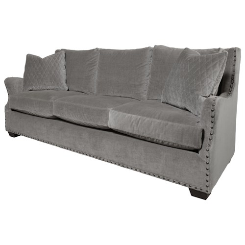 Universal Connor Traditional Sofa with Nail Head Trim