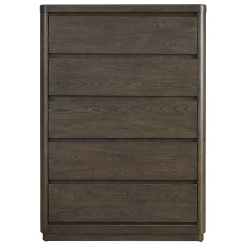 Morris Home Furnishings Curated Roxbury Drawer Chest with Cedar-Lined Bottom Drawer