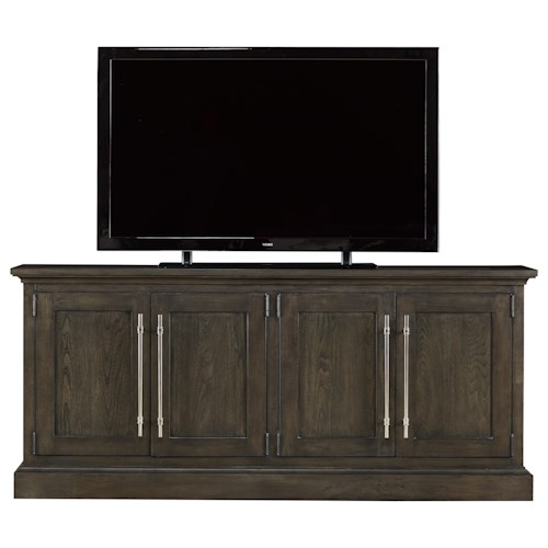Morris Home Furnishings Curated Emerson Console with 4 Doors