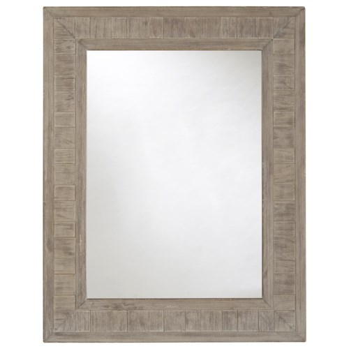 Universal Curated Gilmore Mirror with Inset Panel Detail