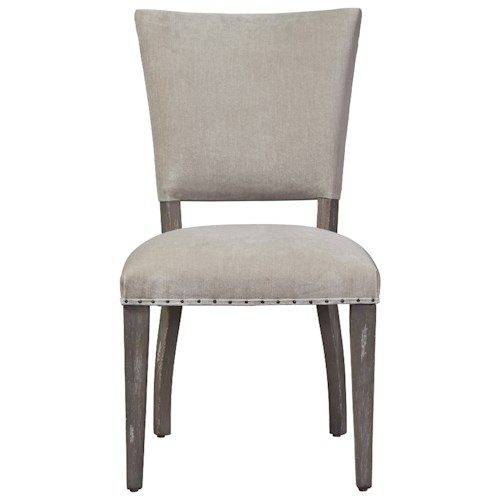 Universal Curated Pearson Upholstered Side Chair with Decorative Tack Trim