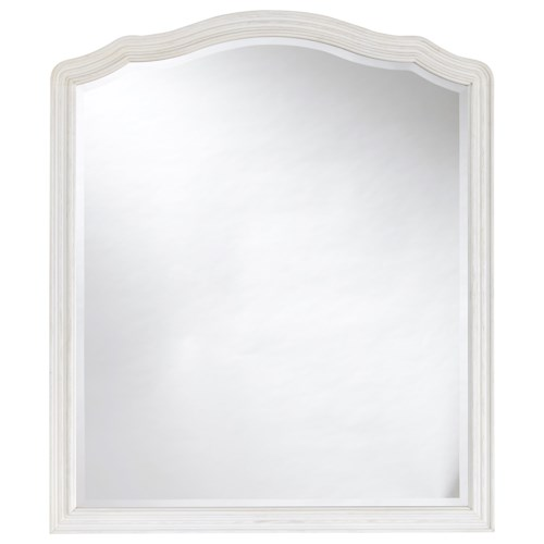 Morris Home Furnishings Curated Amity Mirror with Molded Frame