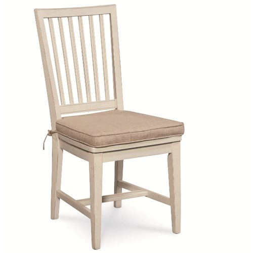 Universal Great Rooms Vertical Slat Side Dining Chair