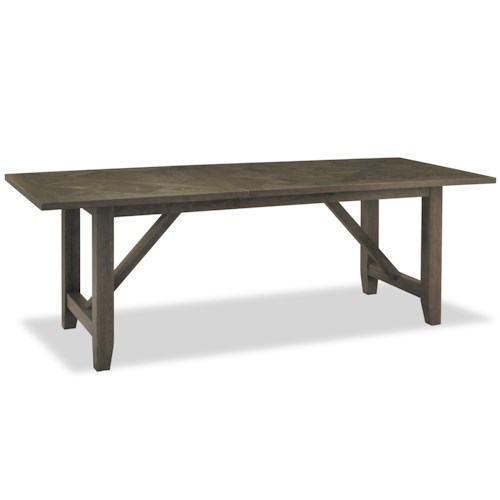 Morris Home Furnishings Great Rooms - Berkeley 3 Chelsea Kitchen Table with Trestle Base