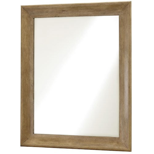 Morris Home Furnishings Moderne Muse Vertical or Horizontal Mirror