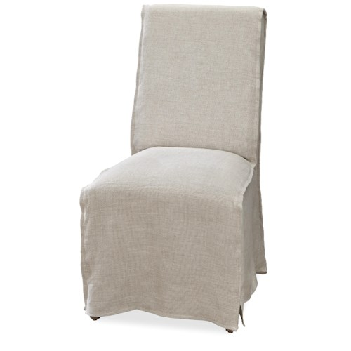 Morris Home Furnishings Moderne Muse Parisian Chair with Removable Slip Cover
