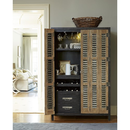 Morris Home Furnishings Montpelier Libations Locker