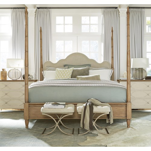 Morris Home Furnishings Montpelier Queen Poster Bed