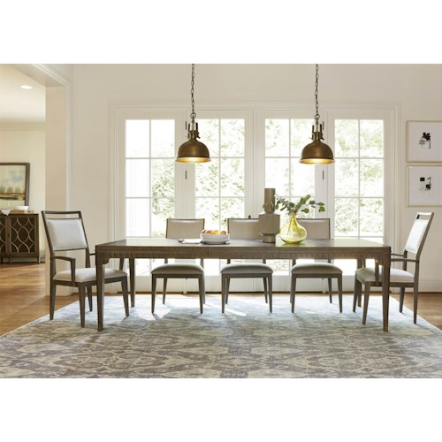 Morris Home Furnishings Platinum 5-Piece Dining Set with 4 Side Chairs