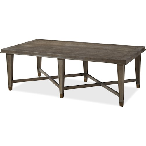 Universal Playlist Cocktail Table with Tapered Legs