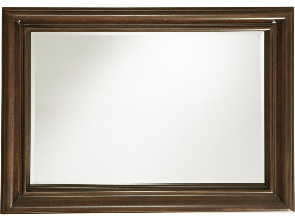 Set Includes Landscape Mirror, Which can be Hung Vertically or Horizontally