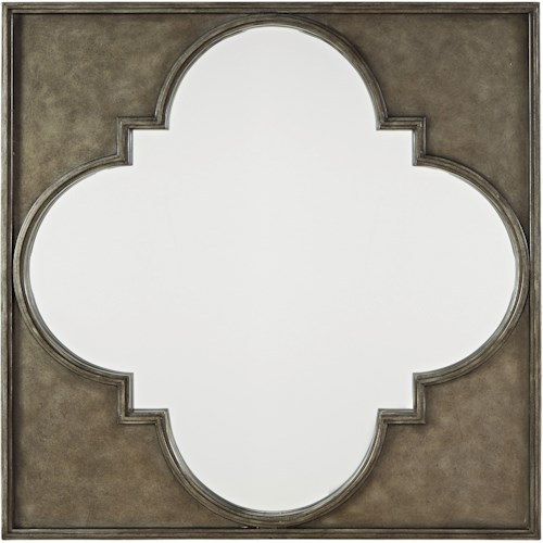 Morris Home Furnishings Sojourn Metal Mirror