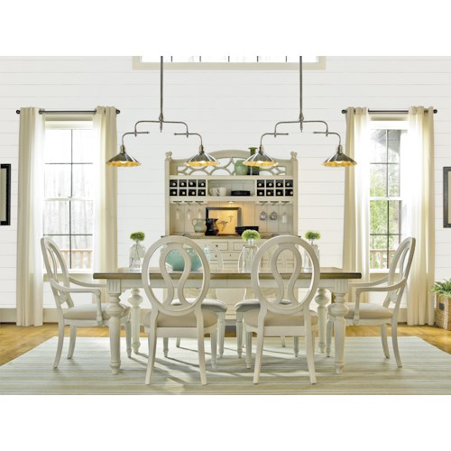 Morris Home Furnishings Summer Shade 5-Piece Dining Set