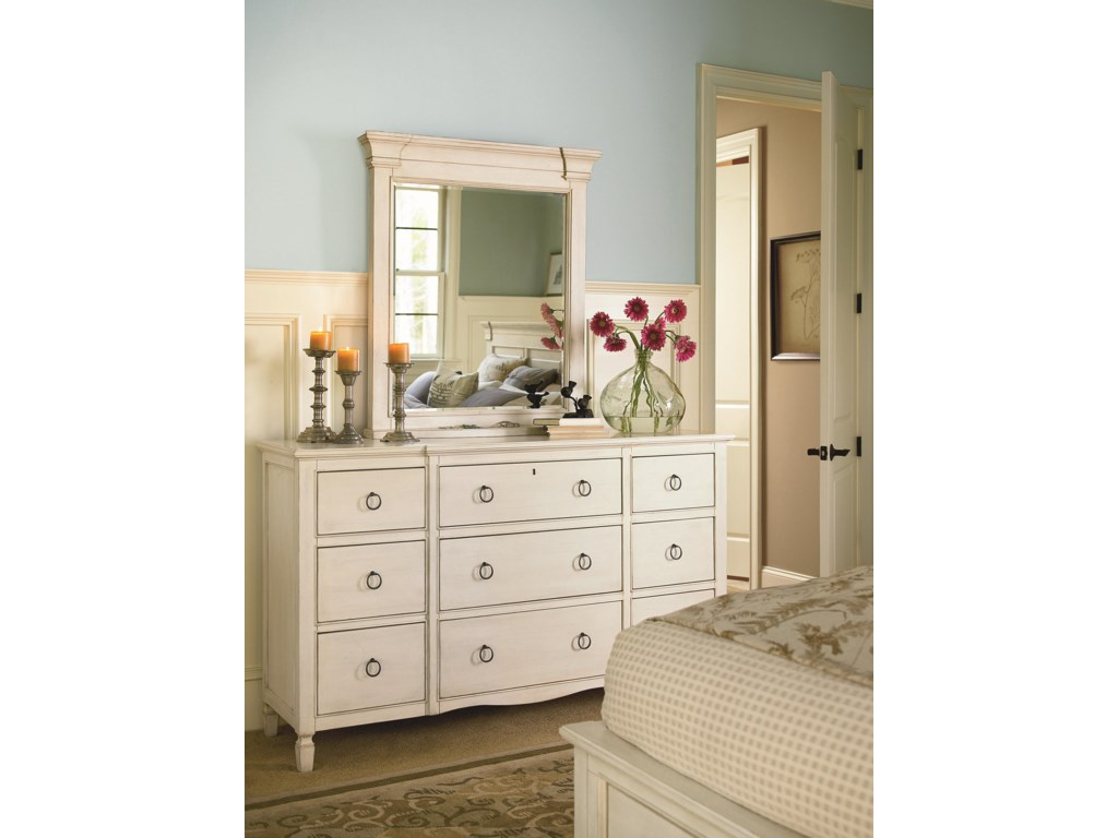 Shown with Nine Drawer Dresser