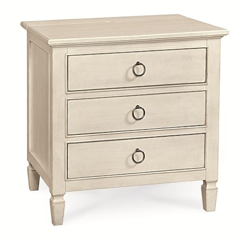 Universal Summer Hill 3 Drawer Night Stand