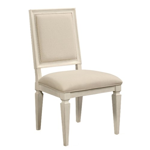 Morris Home Furnishings Summer Shade Woven Accent Side Chair