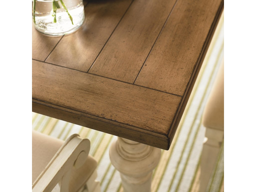 Detail of Plank Style Table Top
