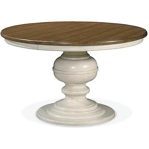 Universal Summer Hill Round Pedestal Table