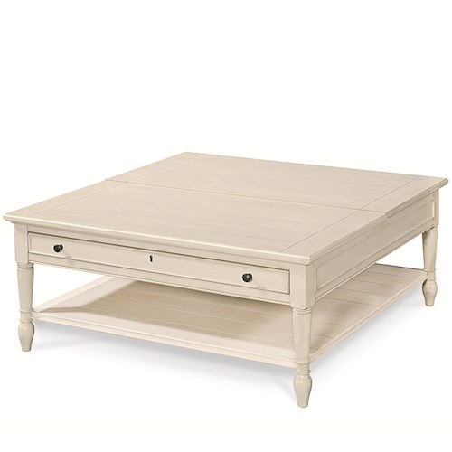 Morris Home Furnishings Summer Shade Lift Top Cocktail Table