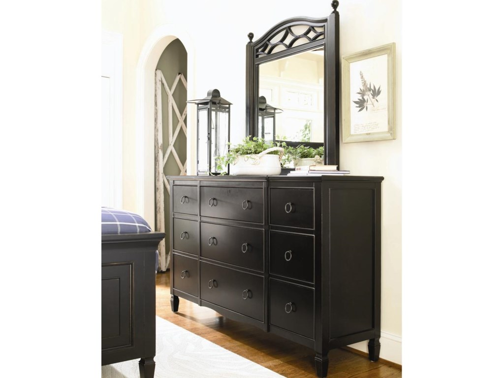 Dresser Shown with 02M Mirror